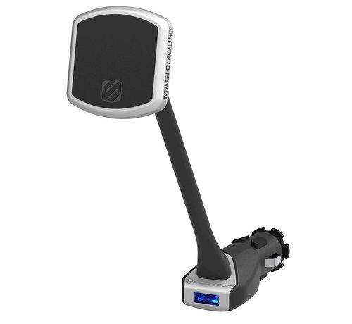 Scosche MagicMount Pro Power  USB port autostopcontact