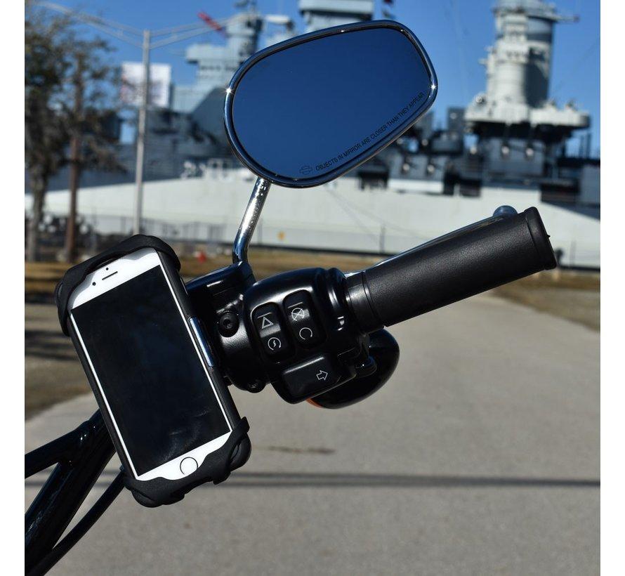 MagicMount Telefoonhouder op motor of fiets