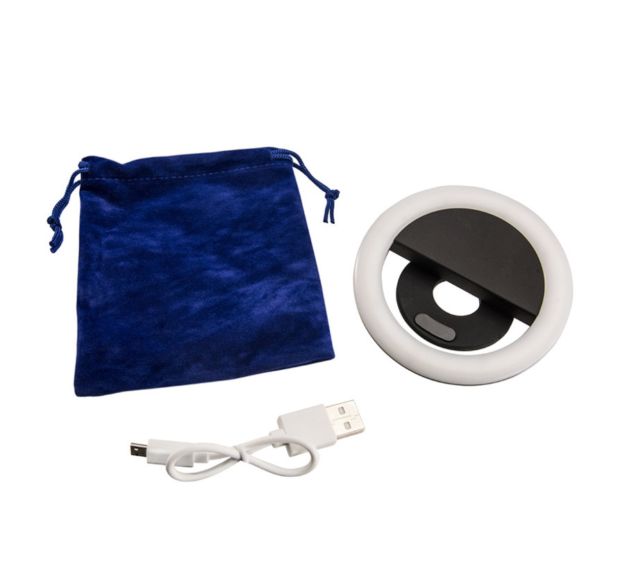 Phone and Tablet Stand with Ring Light Bundle voor vloggen en livestreaming