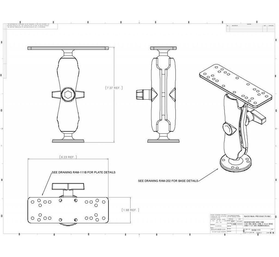 Electronica montage sets RAM-111U