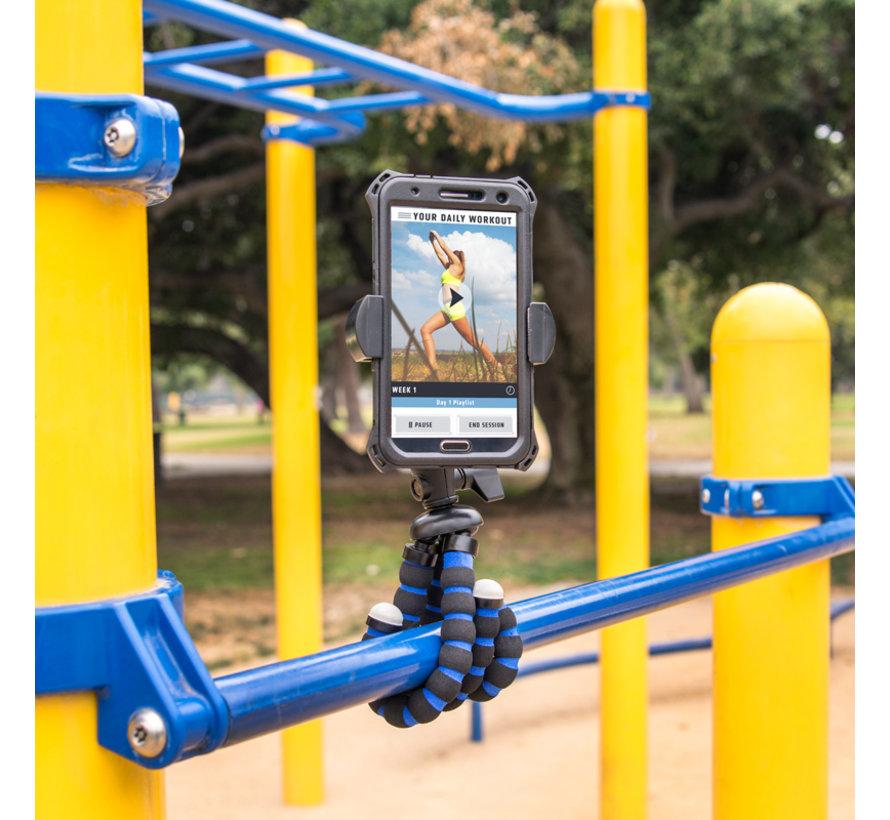 Tripod standaard met Roadvise universele smartphone houder