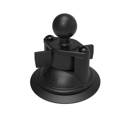 "RAM Mount Suction Cup Twist Lock Base 1"" Ball RAM-B-224-1U"