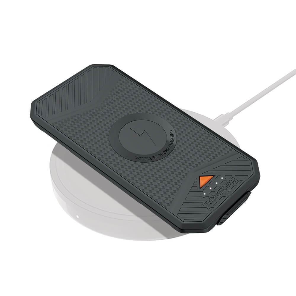Rokform Portable Wireless Charging Pack Black