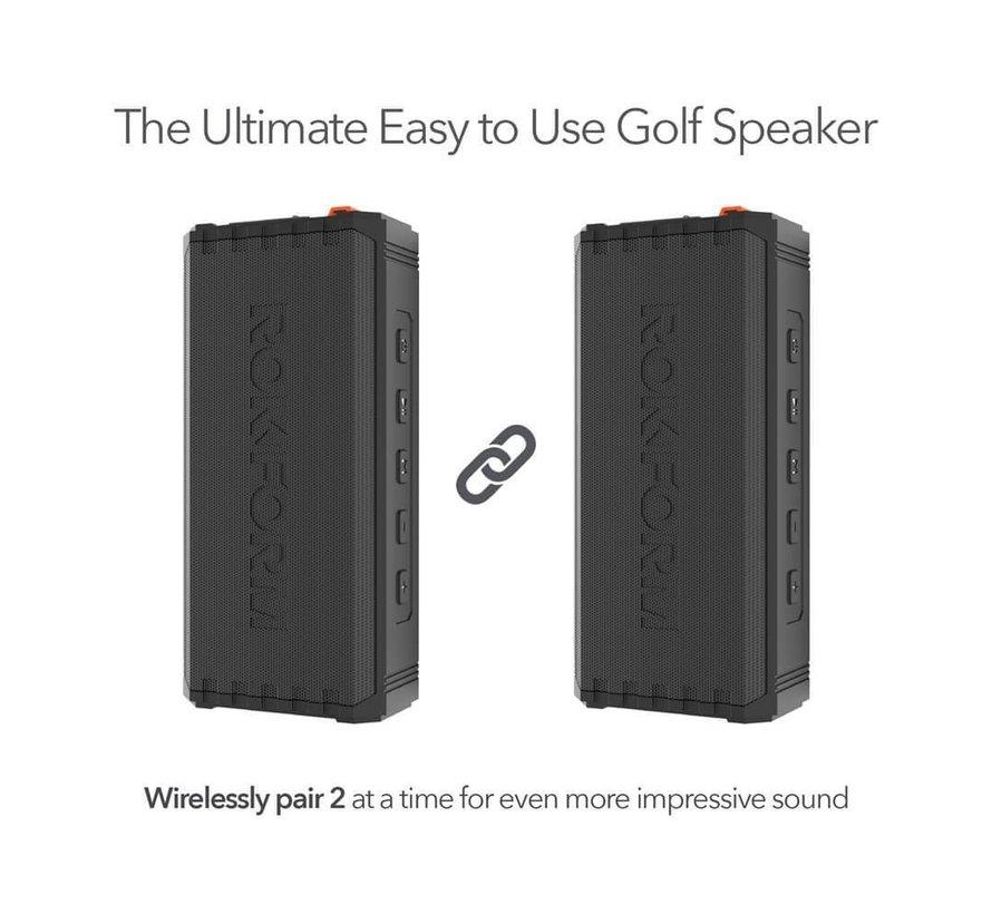G-ROK Portable Wireless Speaker, magnetische bevestiging