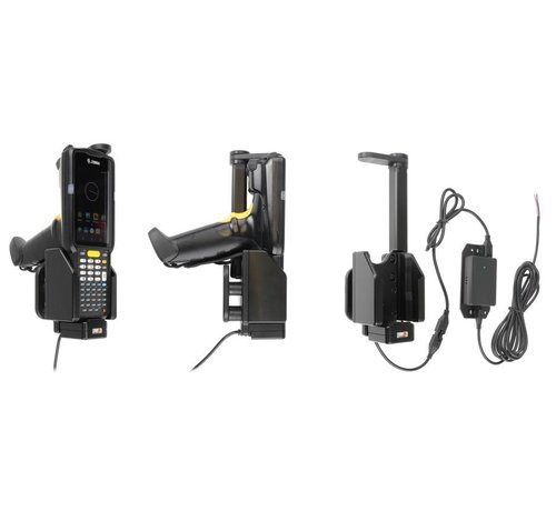 Brodit scannerhouder Zebra MC3300 swiveling top 3A-sig.plug 216088