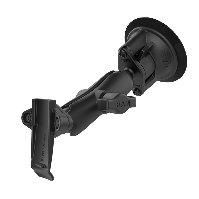 RAM Mount Spine clip houder set voor Garmin met Zuignapset