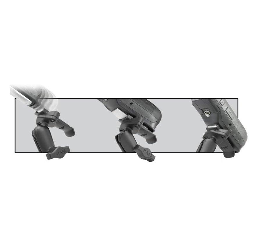 Spine clip houder set voor Garmin met Trackrail kogel