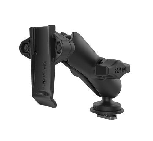 RAM Mount Spine clip houder set voor Garmin met Trackrail kogel