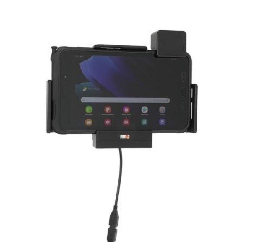 houder met lader Samsung Gal. TAB Active3-sig.plug