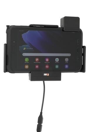 Brodit houder met lader Samsung Gal. TAB Active3-sig.plug