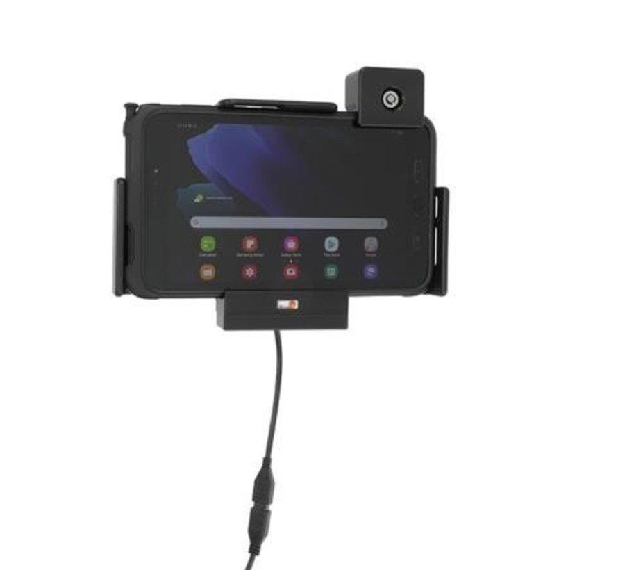 houder met lader Samsung Gal. TAB Active3 -Lock Versie -Molex  736224