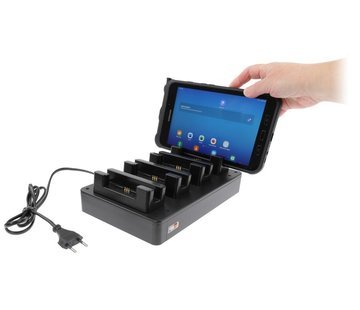 Brodit 4 pcs table multi charger-Samsung Tab Active 2/3/Pro