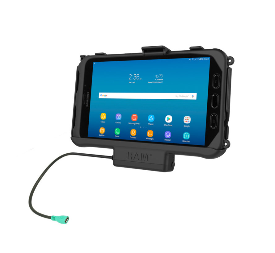 Powered houder Samsung Galaxy TAB Active2/ Active3