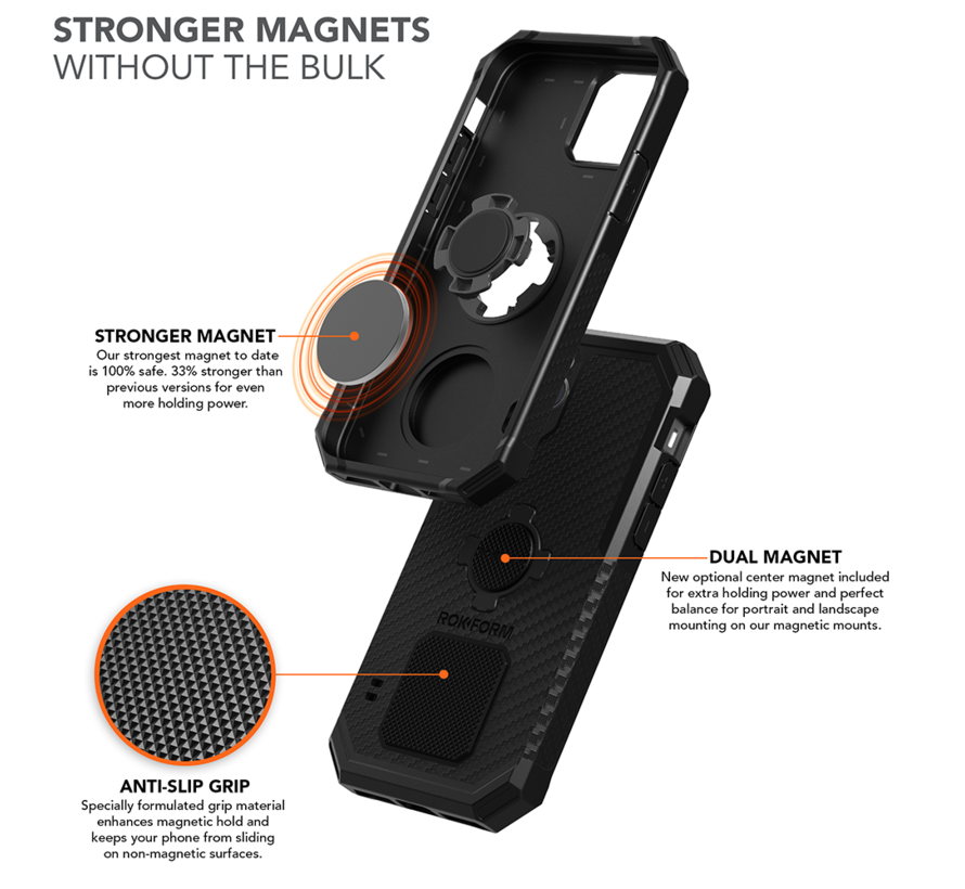 Rugged Wireless Case iPhone 12/12 Pro