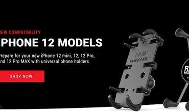 RAM Mounts iPhone 12 geschikte houders