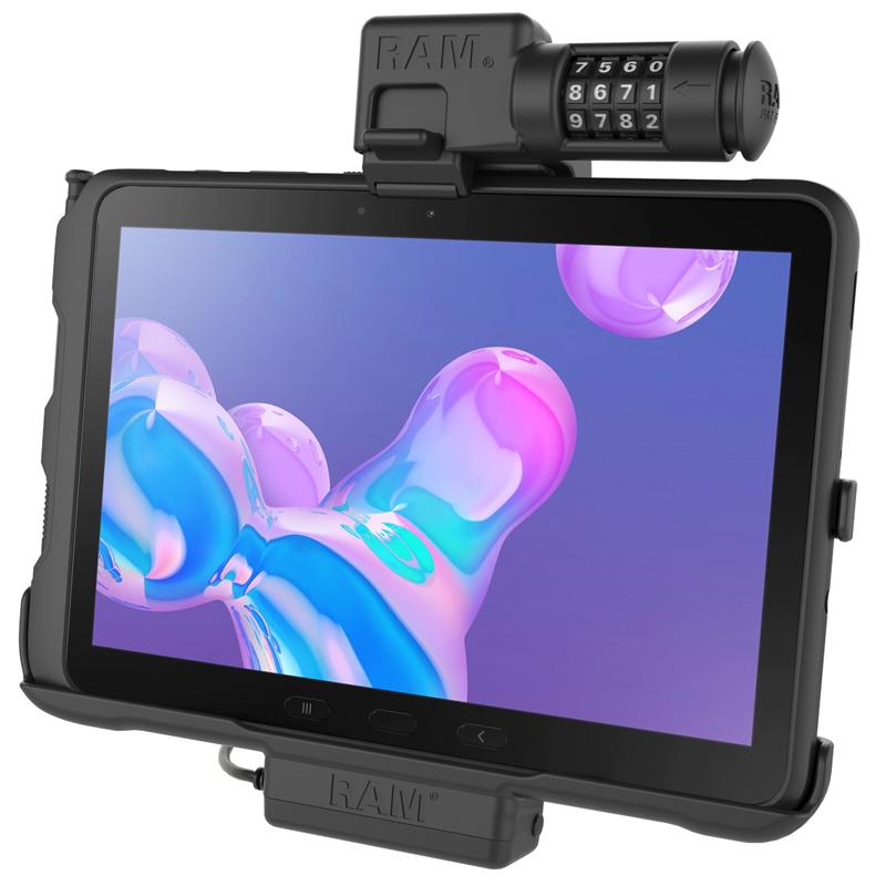 RAM Mount Powered houder Samsung Galaxy Tab Active Pro Cijferslot SAM52PCLU