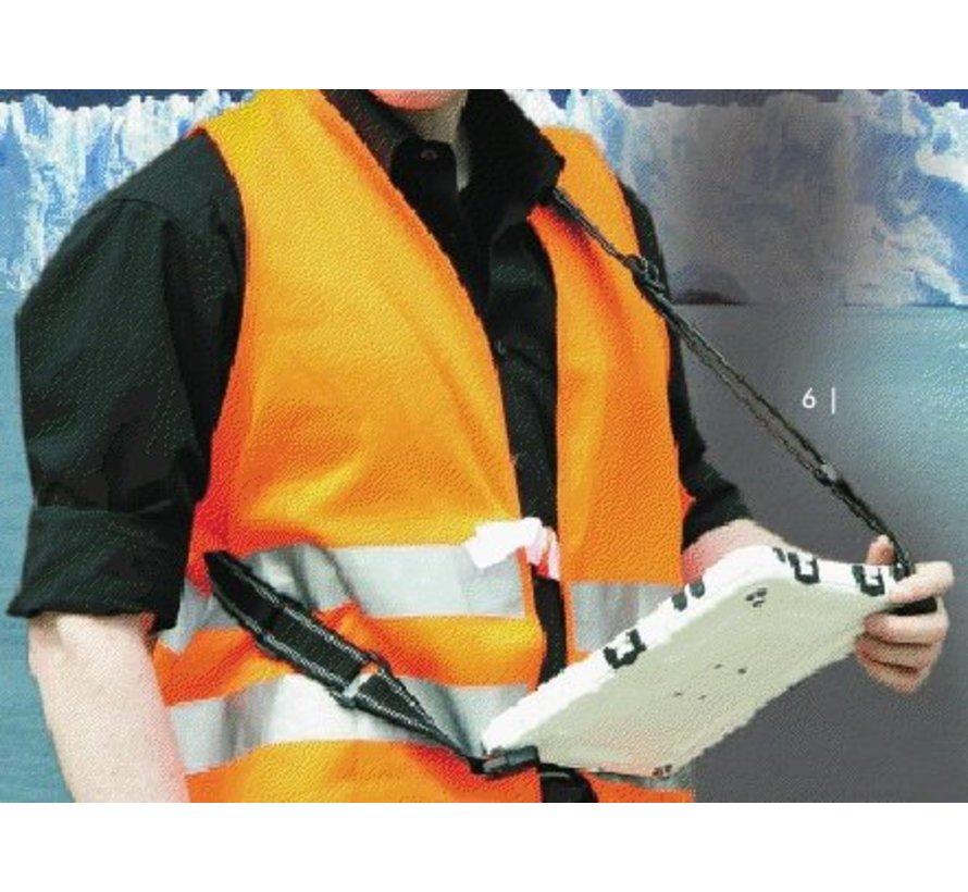 aiShell 10 heavy-duty case iPad  10.2-Rood
