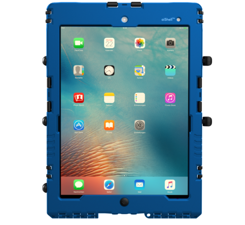 aiShell 10 heavy-duty case iPad  10.2-Blauw
