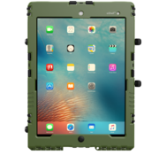 aiShell 10 heavy-duty case iPad  10.2 - Legergroen