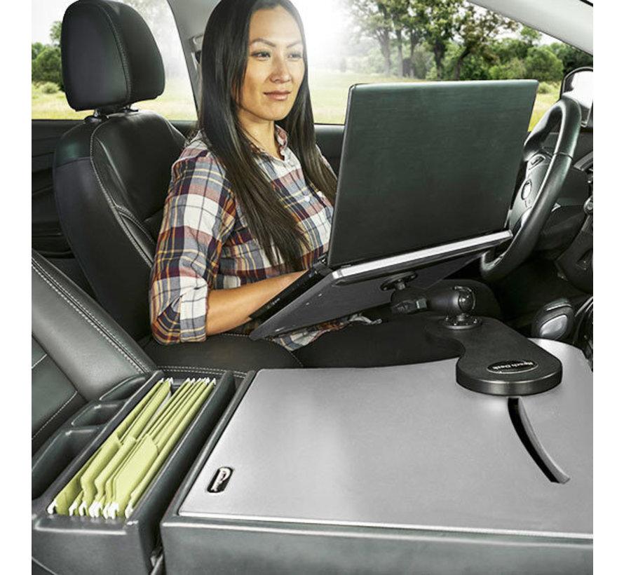 AutoExec Reach Desk mobiele laptop werkplek  - Grijs