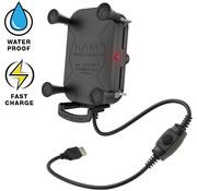 RAM Mount Tough-Charge™ X-Grip® Tech Waterproof Wireless Charging Houder  RAM-HOL-UN12WB