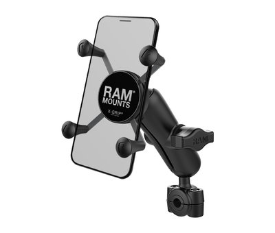 "RAM Mount Torque™ 3/8"" - 5/8"" Diameter Mini Rail Base and X-Grip® for Phones"