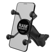 RAM Mount X-Grip smartphone met b-maat klemarm RAP-HOL-UN7B-201U
