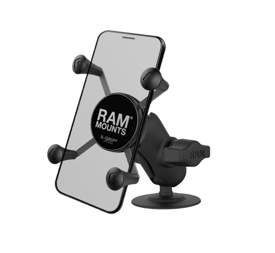 Zelfklevende X-Grip Smartphone mount -Kort