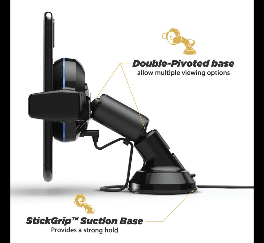MagicGrip Double-Pivot Mount met Qi draadloos opladen