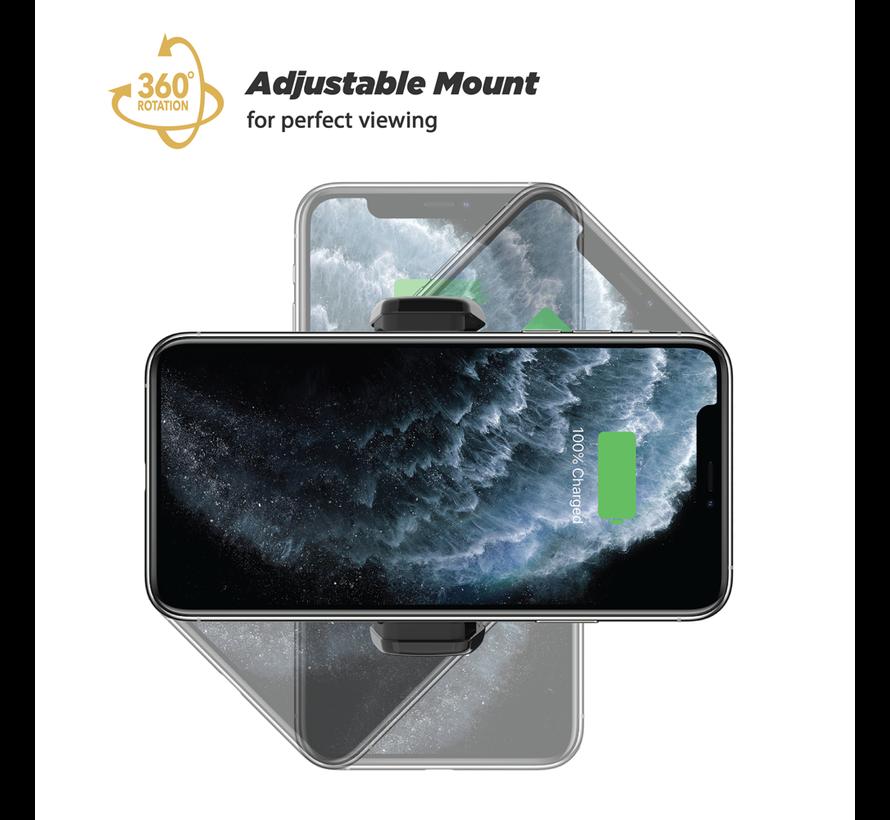 MagicGrip Win/Dash Mount met Qi draadloos opladen