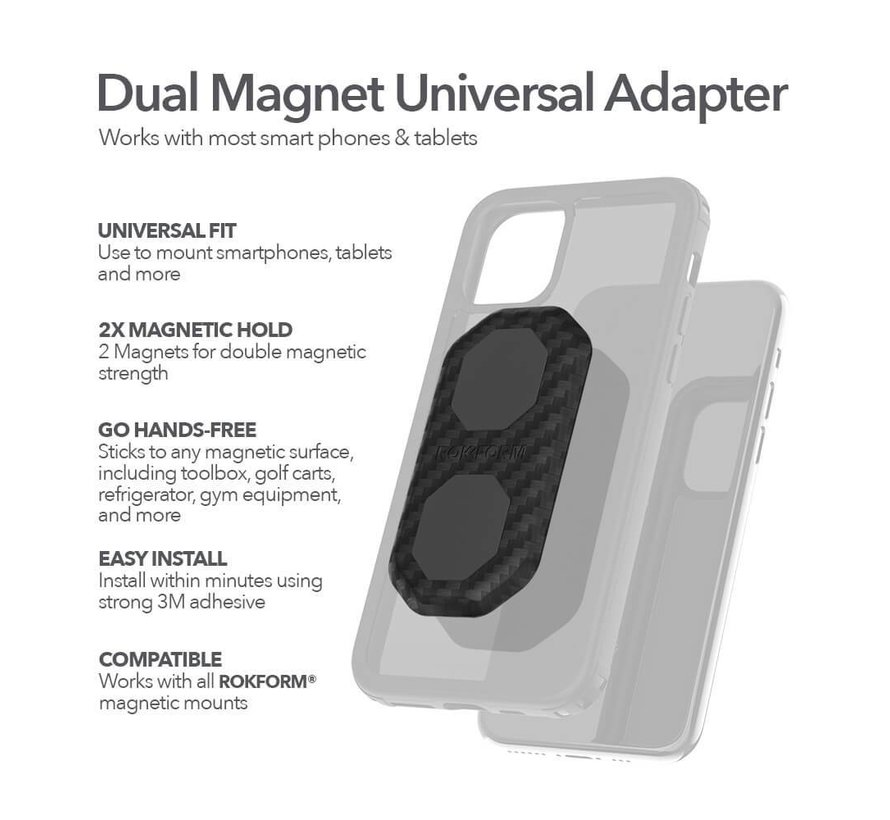 Dual Magnet Universal Adapter