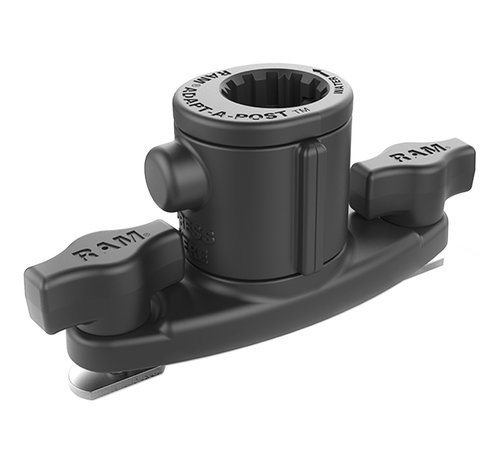 RAM Mount Universal Adapt-A-Post™ Dual T-Bolt Track Base RAP-AAPUDT-1U