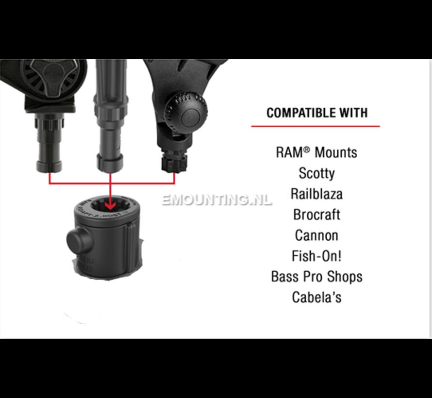 Universal Adapt-A-Post™ Track Base RAP-AAPUTU