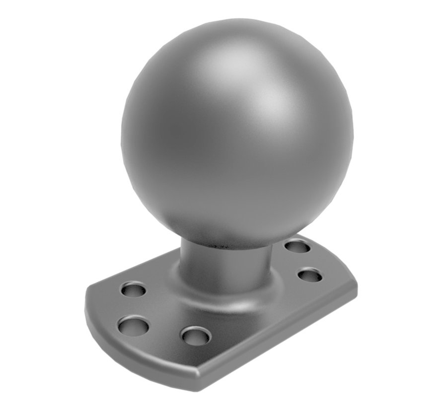 "D-maat 2.25"" Ball Base voor Crown Work Assist® -"