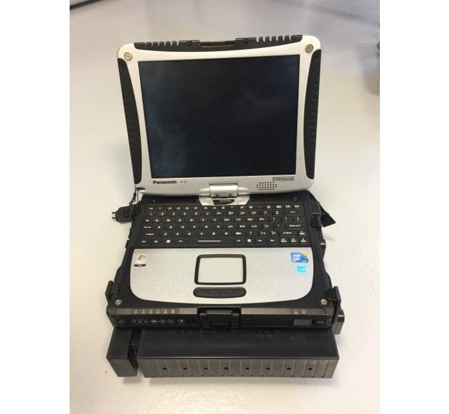 Laptophouder rechte klemmen met schroefmontage -RAM-101-234-3FL