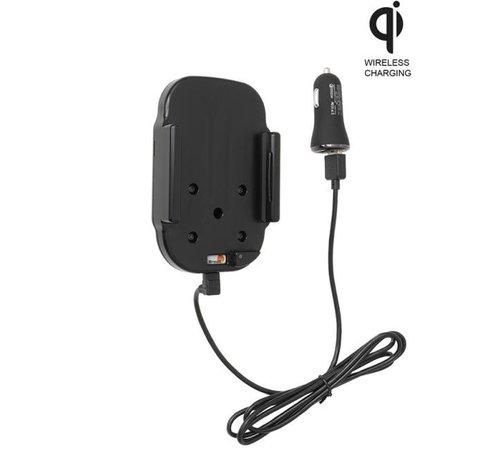 Brodit houder/lader Qi Apple iPhone 12/12 Pro USB sig.plug