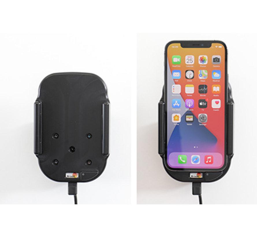 houder/lader Qi Apple iPhone 12/12 Pro fixed installatie