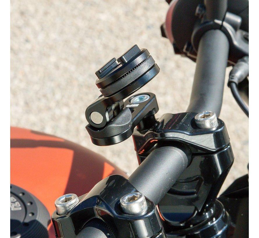 Bar Clamp Mount PRO CHROME voor schroefbevestiging M8 - - Copy