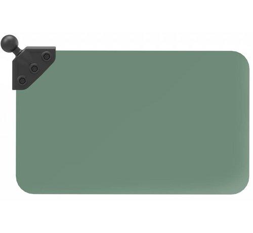 RAM Mount Donker groene sunvisor met B-Kogel