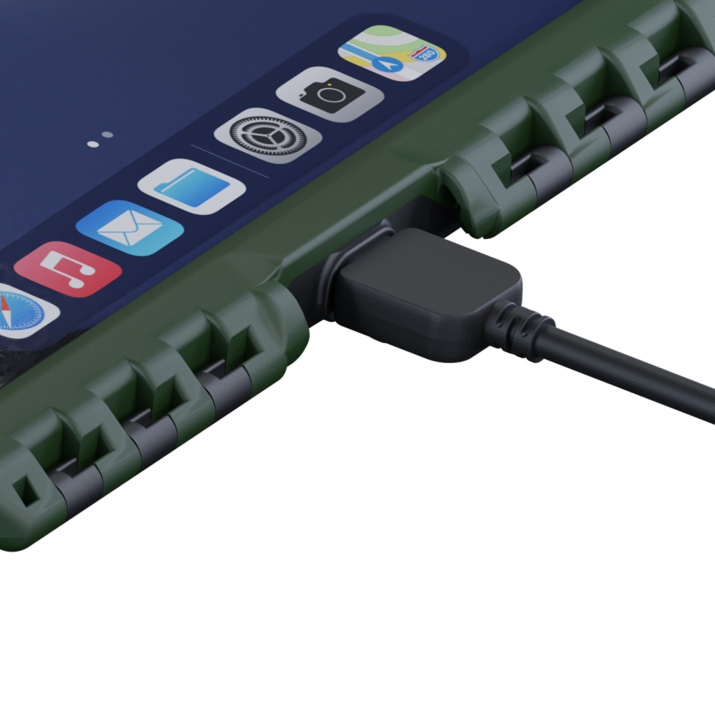 aiShell spatwaterdichte Charging Connector - USB-C
