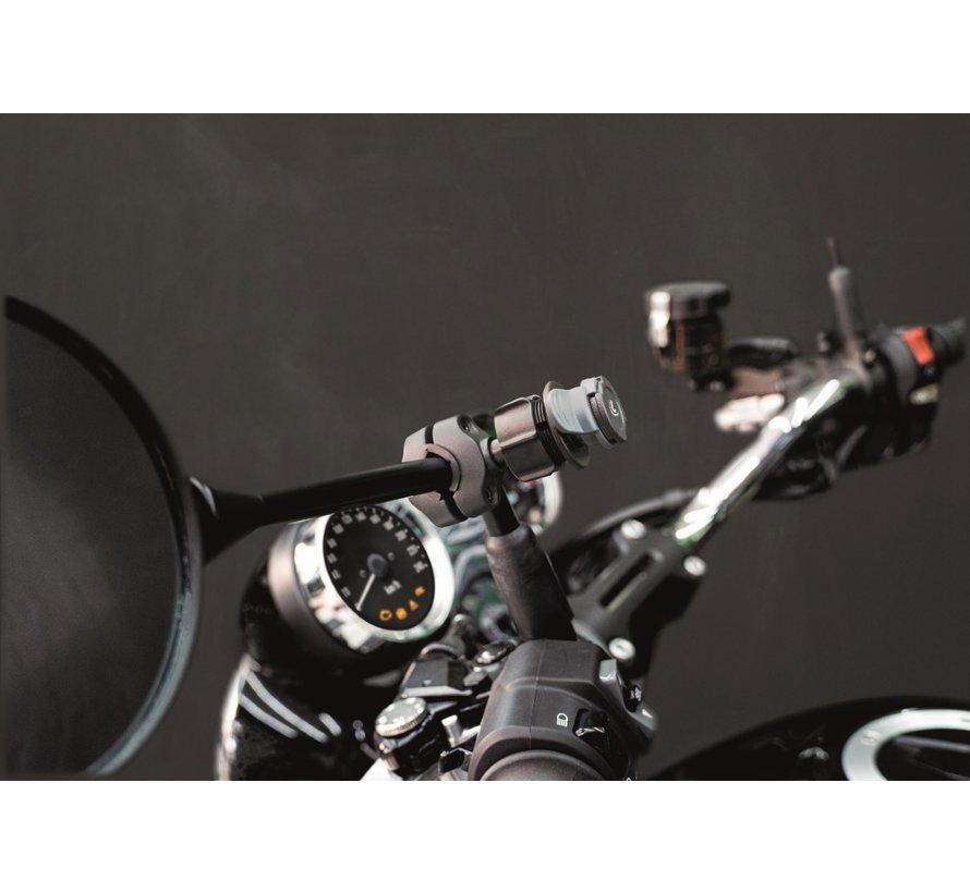 Titan Opti Bar, spiegel en crossbarbevestiging 9-18 mm diameter.