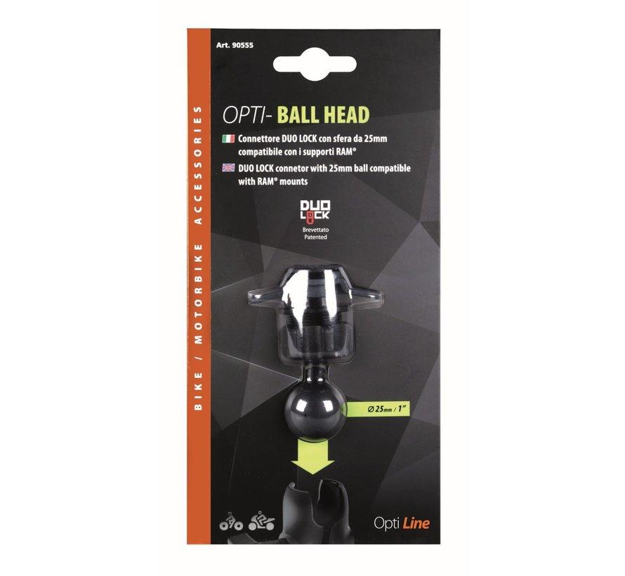 Titan Opti-Ball head 25 mm