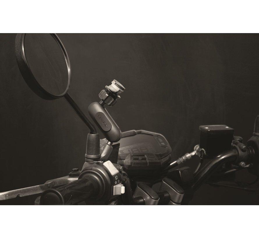 Titan Opti-Pole Orbit, spiegel en schroefvaste bevestiging