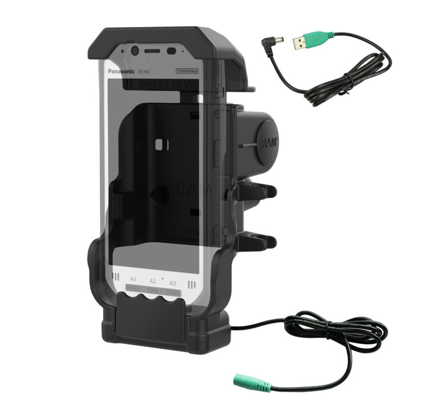Powered Dock for Panasonic Toughbook FZ-N1 & FZ-F1