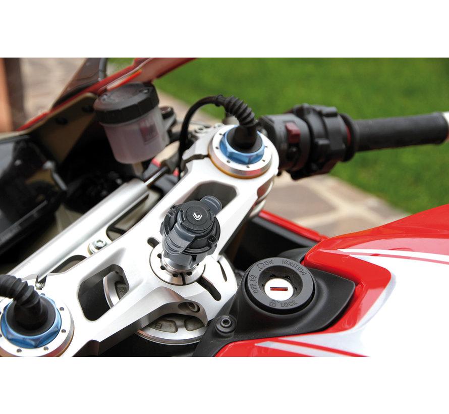 Opti-Tube DUO LOCK balhoofdbevestiging motor 13.5-14.7 mm