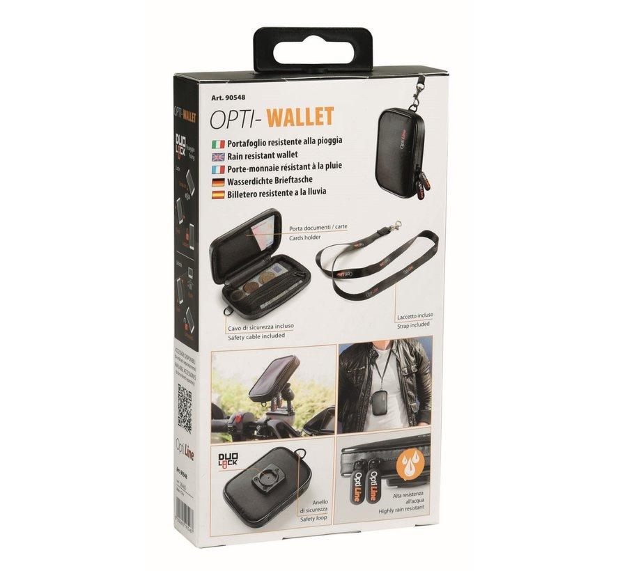 Opti Wallet, regenbestendige portemonnee