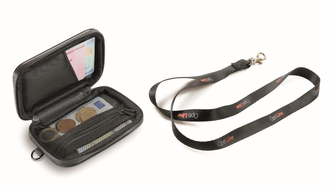 Lampa Opti Wallet, regenbestendige portemonnee