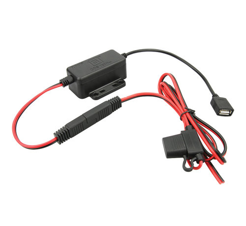 RAM Mount GDS® Modular 20-60V Hardwire Charger with Female USB Type A Connector