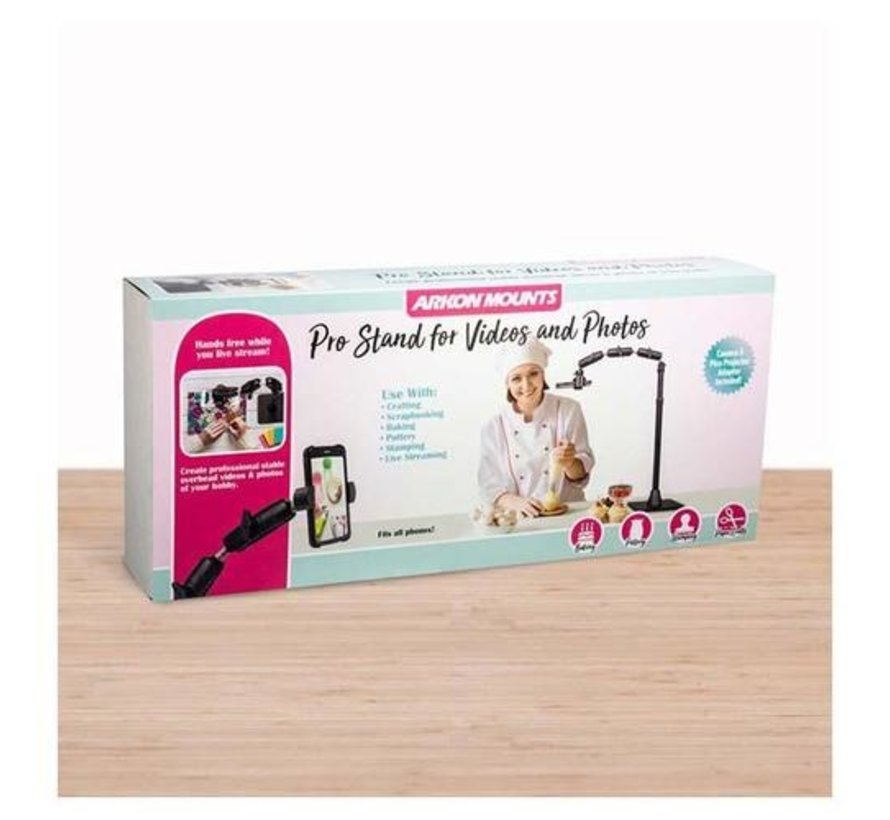 Pro Phone or Camera Stand voor vloggers