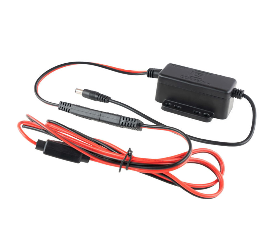 GDS® 10-32VDC Input (12VDC Output) Hardwire Charger with Male DC 5.5mm